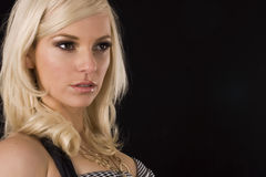 Schöne blonde Frauen Lizenzfreies Stockfoto