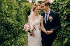Schöne blonde Paare Lizenzfreies Stockfoto
