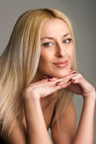 Schöne Blondine Lizenzfreie Stockfotografie