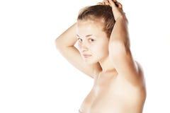 Schöne Blondine Stockbilder