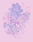 Schöne Blumen stock abbildung