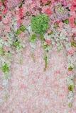 Schöne Blumenhochzeit verzieren Stockfotografie