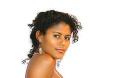 Schöne brasilianische Frau Lizenzfreies Stockbild