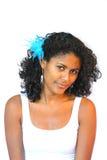 Schöne brasilianische Frau Lizenzfreie Stockbilder