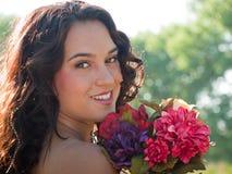 Schöne Braut Stockfotografie