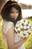 Schöne Braut Stockfoto