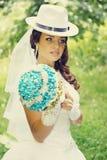 Schöne Braut, abgetönt lizenzfreie stockfotos