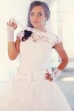 Schöne Braut, abgetönt lizenzfreie stockbilder
