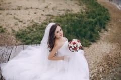 Schöne Braut HD Lizenzfreie Stockfotos