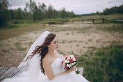 Schöne Braut HD Stockfotos