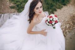 Schöne Braut HD Lizenzfreie Stockbilder