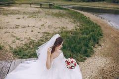 Schöne Braut HD Lizenzfreies Stockfoto