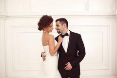 Schöne Brautpaare Lizenzfreies Stockbild