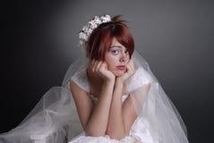 Schöne Brautportraits Stockbild