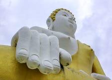Schöne Buddha-Statue Lizenzfreies Stockbild