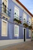 Schöne buldings der Stadt Aveiro, Portugal Lizenzfreies Stockfoto