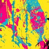 Schöne bunte abstrakte Graffitipolygon-Vektorillustration Lizenzfreie Stockfotos