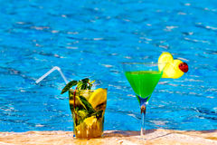 Schöne Cocktails Lizenzfreie Stockbilder