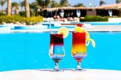 Schöne Cocktails Lizenzfreies Stockbild