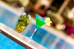 Schöne Cocktails Stockfotografie