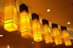 SCHÖNE DACH-LAMPE Stockbilder