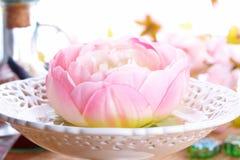 Schöne Dekoration aromatherapy Lizenzfreie Stockbilder