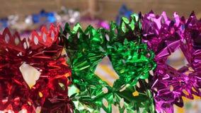 Schöne Dekorationen für Sukkot stock footage