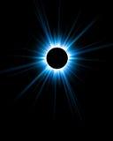 Schöne Digital-Eklipse stock abbildung