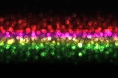 Schöne discolights nachts Lizenzfreie Stockbilder