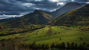Schöne drastische Landschaft Lizenzfreies Stockfoto