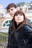 Schöne durchdachte Paare Lizenzfreie Stockfotografie