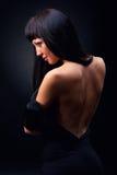 Schöne elegante Frau lizenzfreie stockfotos