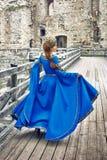 Schöne Eleonor von Aquitanien, Herzogin und Königin von England und von Frankreich auf hohen Mittelalter stockbild