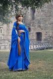 Schöne Eleonor von Aquitanien, Herzogin und Königin von England und von Frankreich auf hohen Mittelalter lizenzfreie stockfotos
