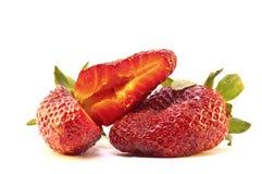 Schöne Erdbeeren Lizenzfreies Stockfoto
