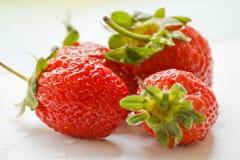 Schöne Erdbeeren Lizenzfreies Stockbild