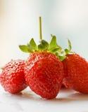Schöne Erdbeeren Lizenzfreie Stockfotos