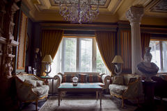 Schöne Europa-britische Art-Hotel-Vorhalle lizenzfreie stockbilder