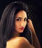 Schöne exotische junge Frau Stockbild