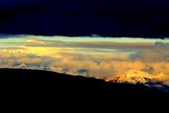 Schöne Fall-Farben in Mt-Bäcker 6 Lizenzfreies Stockfoto