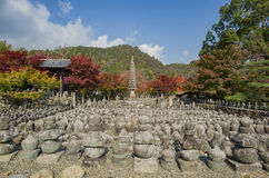 Schöne Falllandschaft um Kyoto Lizenzfreie Stockbilder