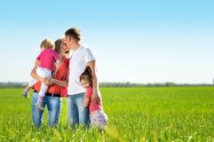 Schöne Familie Stockfotos