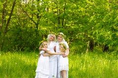 Schöne Familie Stockfoto