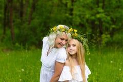 Schöne Familie Stockfotografie