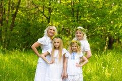 Schöne Familie Lizenzfreies Stockfoto