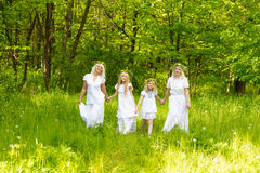 Schöne Familie Lizenzfreies Stockbild