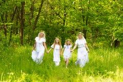 Schöne Familie Lizenzfreie Stockfotos