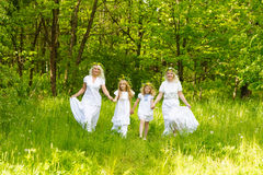 Schöne Familie Lizenzfreie Stockfotografie