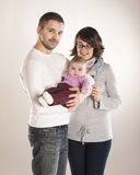 Kleine Familie Lizenzfreie Stockfotografie