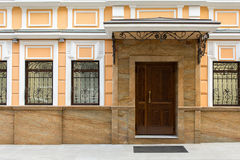 Schöne Fassade stockbilder